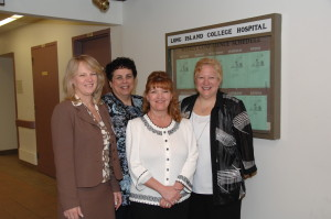 Michele with colleagues at Long Island College Hospital, Brooklyn, NYC.