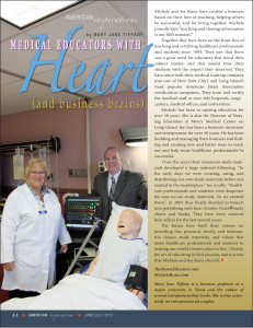 American Inspirations: Medical Educators with Heart (and business brains)